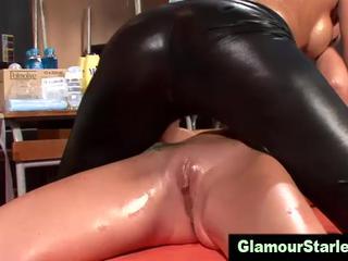 Сексуальная глэм фетиш лесбиянки