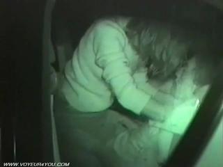 Места сзади автомобилей Секс Вуайеризм