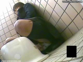 Секрет Туалет камеры Voyeur Девушки Мастурбация