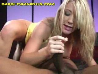 Блондинка Любит Chocolate мясо